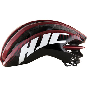 HJC IBEX Road Helm matt pattern red
